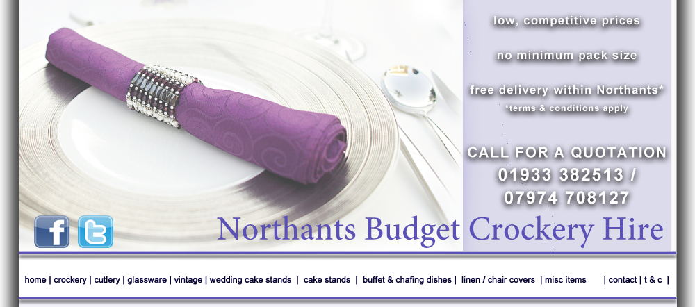 Wedding Cake Stand Hire from Northants Budget Crockery Hire, NBC Hire