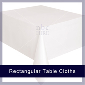 Rectangle Table Linen Sizes and Prices