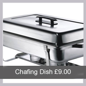 Chafing Dish from Northants Budget Crockery Hire
