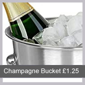 champagne bucket hire